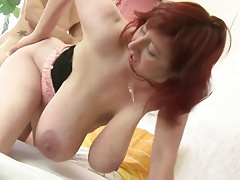 ROKO VIDEO-Big Boobs Mature And Boy