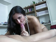 Sexy Spanish Milf And Young Guy