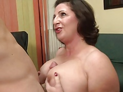 Italian MILF With Large Boobs