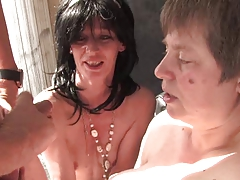 German Milf Group Sex