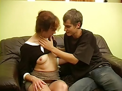 Very Young Boy Fuck Russian Mature Mom!