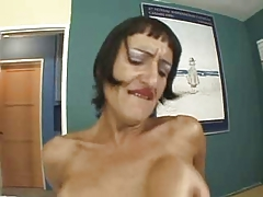 Susana De Garcia -Older Hairy Squirter