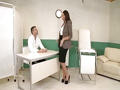 Big Titted Milf At Kinky Gynecologist