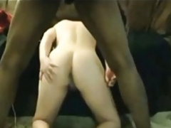 Wife Interracial Anal Creampie