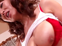 Busty Japanese Mom Vs Black Cocks