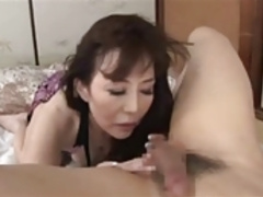 The 60-year Old Japanese Mom Lick Anus