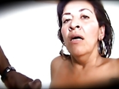Big Butt Latin Grandma Suspects Exposure - 2