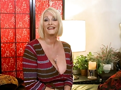 Blonde MILF Gets Assfucked