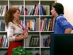 Milf Fucks In The Library