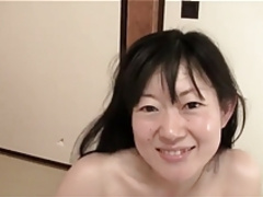 37yr Old Hairy Shino Terada Gets Creamed (Uncensored)